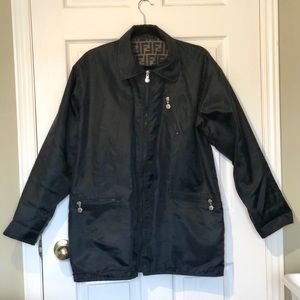 Other - Reversible Black Coat with FF Logo